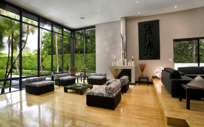 Thiết kế nhà cấp 4 đẹp với phòng khách rộng rãi